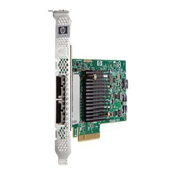 HPE H221 650931-B21 8 Channel PCI Express-2.0 X8 SAS-6Gbps / SATA-3Gbps Host Bus Adapter Storage Controller for Gen8 Gen9 Gen10 ProLiant Server