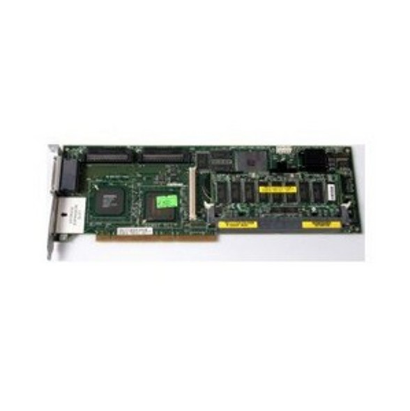 HPE 5312 238633-B21 128 MB Cache Dual Channel PCI-X Ultra-160 SCSI 64Bit 133MHz Smart Array RAID Storage Controller for ProLiant Servers  (New Bulk Pack with 1 Year Warranty)