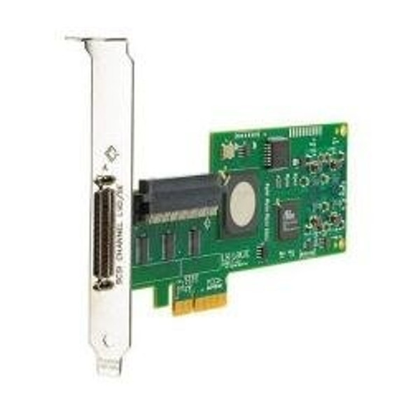 HPE AH627A Dual Port PCI Express X4 Ultra-320 SCSI 68-Pin Plug In Card Host Bus Adapter for ProLiant Generation1 to Generation7 Servers (90 Days Warranty)