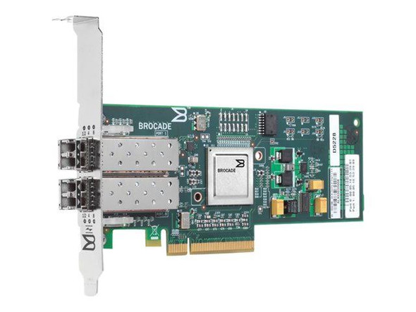 HPE FC2242SR A8003A 4GB Dual Port PCI Express Fibre Channel Host Bus Adapter for Generation1 to Generation7 ProLiant Server