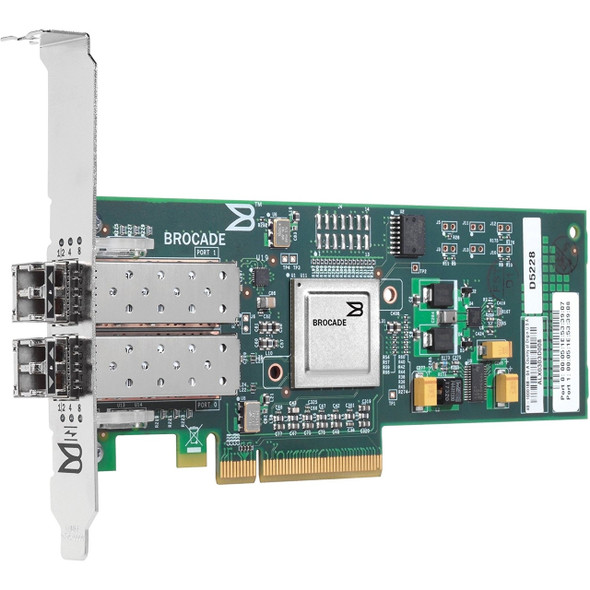 HPE AP768A 4GB Dual Port PCI Express Fiber Channel Low Profile Host Bus Adapter for StorageWorks and ProLiant Generation1 to Generation7 Servers (New Bulk Pack with 1 Year Warranty)
