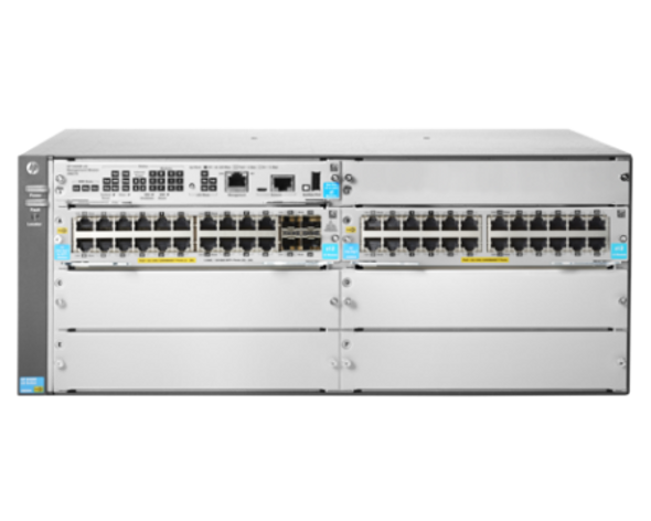 HPE JL003A Aruba 5406R 44GT PoE+ and 4-Port SFP+ (No PSU) Rack-Mountable 4U v3 zl2 Switch Module (New Bulk with 1 Year Warranty)