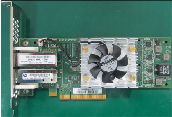 HPE StoreFabric SN1000Q 699765-001 16Gbps Dual Port PCI Express Fibre Channel Host Bus Adapter with Both (Low Profile and Hith Profile) Brackets (Brand New with 3 Years Warranty)