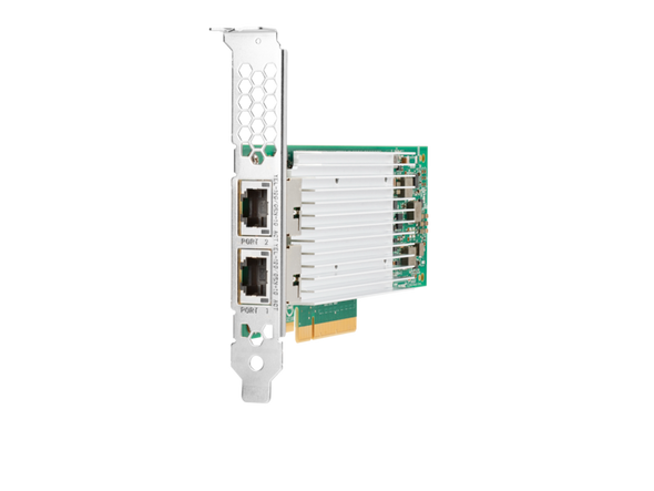 HPE 869573-001 10Gbps Ethernet Dual Port 521T PCI Express Network Adapter for ProLiant Gen10 Servers (Brand New with 3 Years Warranty)
