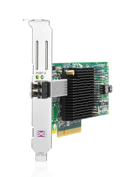 HPE 81E AJ762A 8Gb Single Port PCI Express 2.0 x4 / PCI Express x8 Fiber Channel Host Bus Adapter for Gen1 to Gen7 ProLiant Server (Refurbished with 30 Days Warranty)