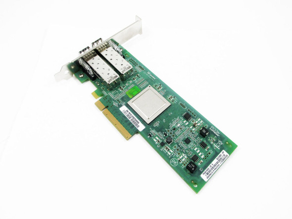 HPE AJ764A PCI Express 2.0 Plug-In Card 8Gb x 2 Fibre Channel Wired Auto-Negotiation SFP+ Host Bus Adapter for ProLaint Gen6 and Gen7 Servers (Brand New with 3 Years Warranty)