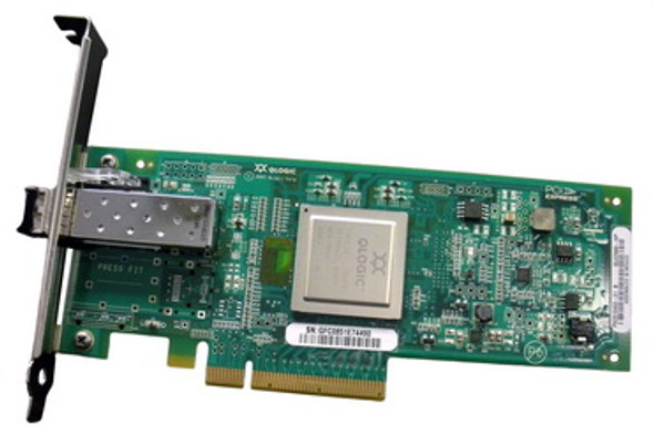 HPE AK344A 8Gb Single Port PCI Express Fibre Channel Plug-in card Low Profile Host Bus Adapter for ProLiant Servers (Brand New with 3 Years Warranty)