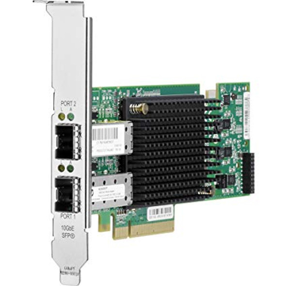 HPE NC552SFP 10Gbps Dual Port PCI Express 2.0 x8 Plug-in Card Ethernet Multifunction Wired Network Adapter for ProLiant Gen1 to Gen7 Servers (Grade A with 90 Days Warranty)