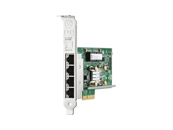 HPE 331T 647592-001 1GB PCIe 2.0 4 x 1000Base-T RJ-45 Quad-Port Ethernet Network Adapter