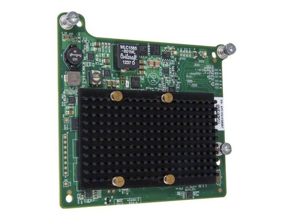 HPE 711305-001 QMH2672 16Gbps PCI Express Dual Port Fibre Channel Host Bus Adapter for ProLiant BL Series Gen8 Gen9 Gen10 Servers (Brand New with 3 Years Warranty)