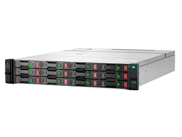 HPE Q1J09A D3610 12-Bay 3.5inch LFF SFF SAS-12Gbps / SATA-6Gbps Disk Enclosure for ProLiant Gen10 Servers & BladeSystems (Brand New with 3 Years Warranty)