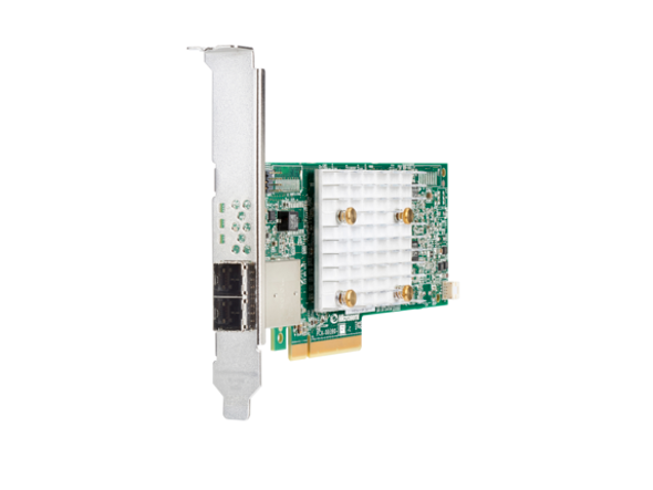 HPE 804405-B21 Smart Array P408e-p SR (8 External Lanes / 4GB Cache) 12Gbps SAS PCIe Plug-in Controller for ProLiant Gen10 Servers (Brand New with 3 Years Warranty)