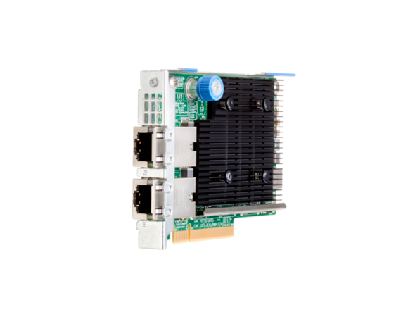 HPE 817721-B21 10Gb Ethernet Dual Port PCI Express 535 FLR-T Network Adapter for ProLiant Gen10 Servers (Brand New with 3 Years Warranty)