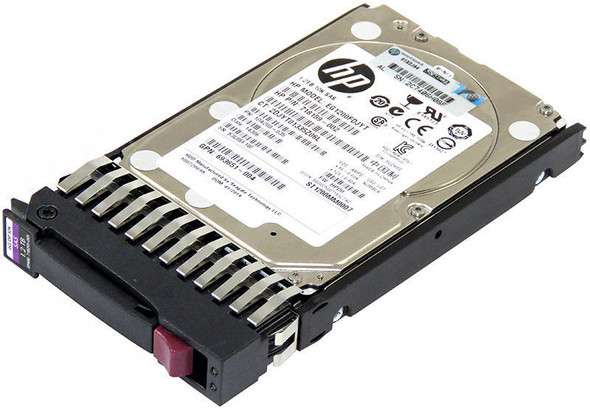 HPE 718159-002 1.2TB 10000RPM 2.5inch SFF Dual Port SAS-6Gbps Enterprise Hard Drive for ProLiant Gen1 to Gen7 Servers and Storage Arrays (Brand New with 3 Years Warranty)
