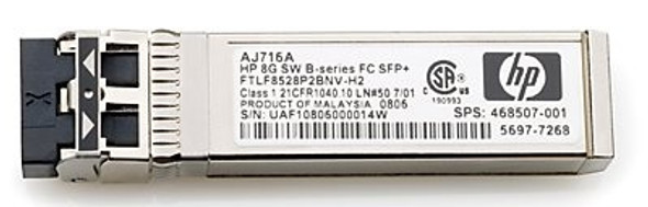 HPE 721748-001 10Gbps Short Wave iSCSI SFP+ 4-Pack Transceiver Module for Modular Smart Array 2040 SAN Storage (Brand New with 3 Years Warranty)