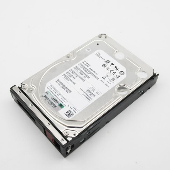HPE MB8000GFECR-LP 8TB 7200RPM 3.5inch LFF Digitally Signed Firmware 512e SATA-6Gbps Low Profile Carrier Midline Hard Drive for ProLiant Gen10 Servers (New Bulk Pack with 1 Year Warranty)