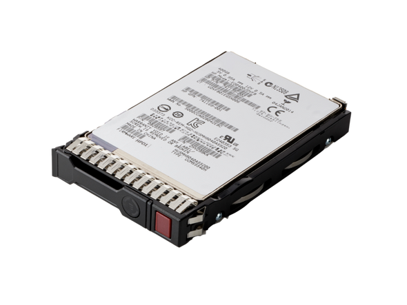 """HPE 879013-001 480GB 2.5inch SFF Digitally Signed Firmware MLC SATA-6Gbps SC Mixed Use Solid State Drive for ProLiant Gen9 Gen10 Servers (New Bulk """"0"""" Hour with 1 Year Warranty)"""