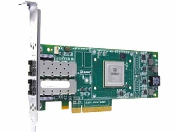 HPE StoreFabric SN1000Q 699765-001 16Gbps Dual Port PCI Express Fibre Channel Host Bus Adapter with Both (Low Profile and Hith Profile) Brackets (New Bulk with 1 Year Warranty)