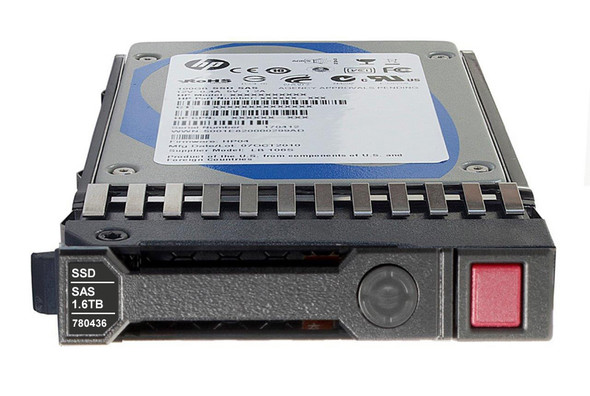 HPE 780436-001 1.6TB 2.5inch SFF Mainstream Endurance SAS-12Gbps SC Enterprise Mainstream Write Intensive Solid State Drive for ProLiant Gen8 Gen9 Servers (New Bulk with 1 Year Warranty)