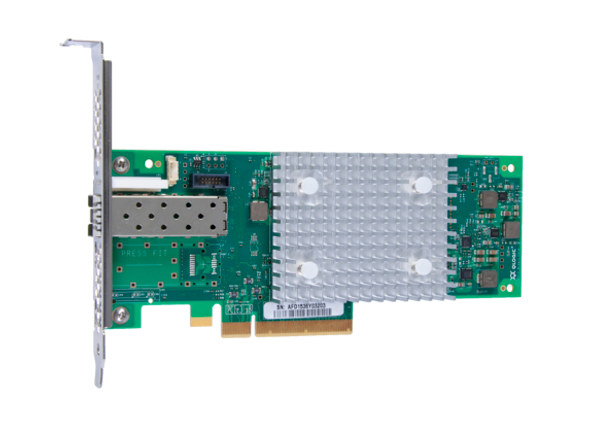 HPE StoreFabric SN1100Q 853010-001 16Gbps Single Port Low Profile PCI Express 3.0 Fibre Channel Host Bus Adapter (Brand New with 3 Years Warranty)