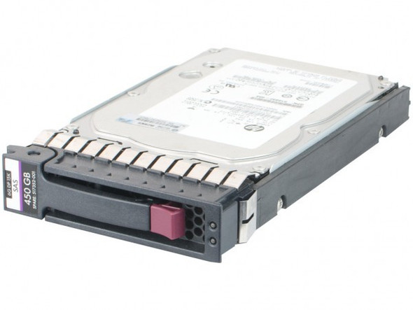 HPE 516832-003 450GB 15000RPM 3.5inch Large Form Factor Dual Port SAS-6Gbps Hot-Swap Enterprise Hard Drive for ProLiant Generation5 Generation6 and Generation7 Servers