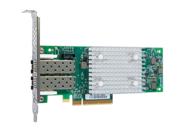 HPE StoreFabric 853011-001 SN1100Q 16Gbps Dual Port Low Profile PCI Express 3.0 Fibre Channel Host Bus Adapter (Brand New with 3 Years Warranty)