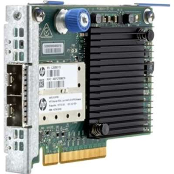 HPE 840139-001 Ethernet 10/25Gb Dual-port PCI Express 3.0 x8 640FLR-SFP28 Adapter for ProLiant Gen9 Gen10 Servers (Brand New with 3 Years Warranty)