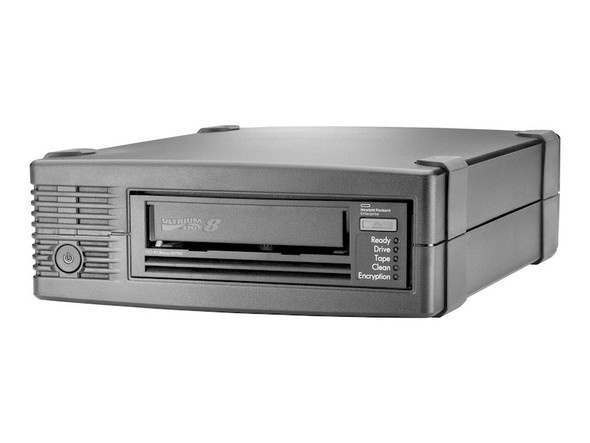 HPE BC023A LTO-8 Ultrium 30750 12TB/30TB 300MBps 26pin 4x mini SAS External Tape Drive (Brand New with 3 Years Warranty)
