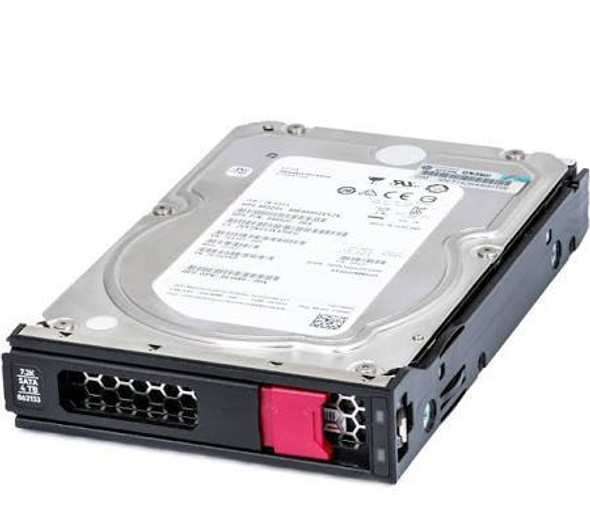 HPE 862133-001 4TB 7200RPM 3.5inch LFF Digitally Signed Firmware SATA-6Gbps LPC Midline Hard Drive for Apollo Gen9 and ProLiant Gen10 Servers (New Bulk with 1 Year Warranty)