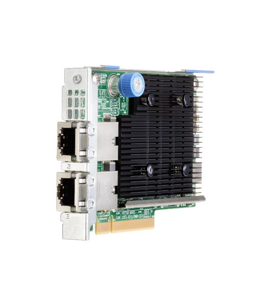 HPE 813661-B21 10Gb Ethernet Dual Port PCI Express 3.0 x8 535T Adapter for ProLaint DL ML Apollo Gen10 Servers (Brand New with 3 Years Warranty)