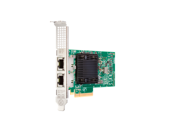 HPE 813661-B21 10Gb Ethernet Dual Port PCI Express 3.0 x8 535T Adapter for ProLiant DL ML Apollo Gen10 Servers (Brand New with 3 Years Warranty)