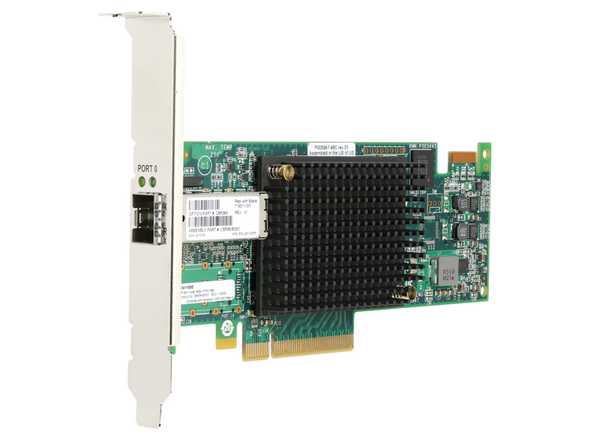 HPE StoreFabric SN1100E 719211-001 16Gb Single Port Fibre Channel Host Bus Adapter for ProLaint Gen8 Gen9 Servers (Brand New with 3 Years Warranty)