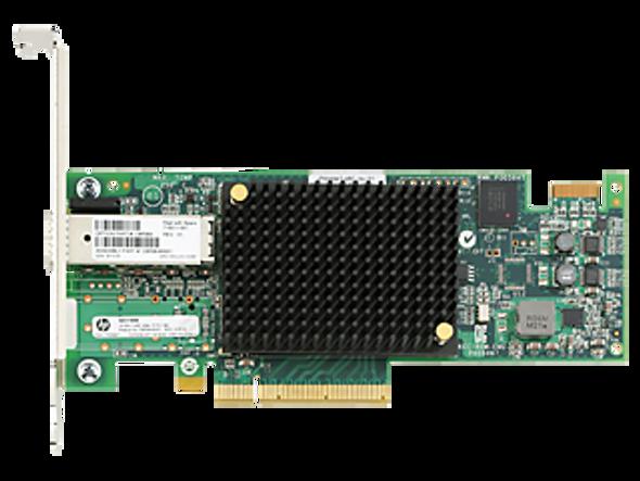 HPE StoreFabric SN1100E 719211-001 16Gb Single Port Fibre Channel Host Bus Adapter for ProLiant Gen8 Gen9 Servers (Brand New with 3 Years Warranty)