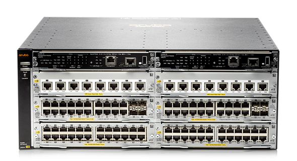 HPE J9821A Aruba 5406R zl2 Power over Ethernet (PoE+) 4U Rack-Mountable 6-Slot Switch Module (Brand New with 3 Years Warranty)