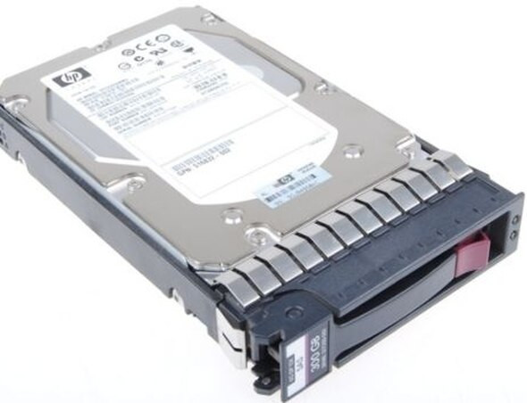 HPE 748385-001 300GB 15000RPM 3.5inch LFF Dual Port SAS-12Gbps STC Enterprise Hard Drive for ProLaint Generation2 to Generation7 Servers (New Bulk with 1 Year Warranty)