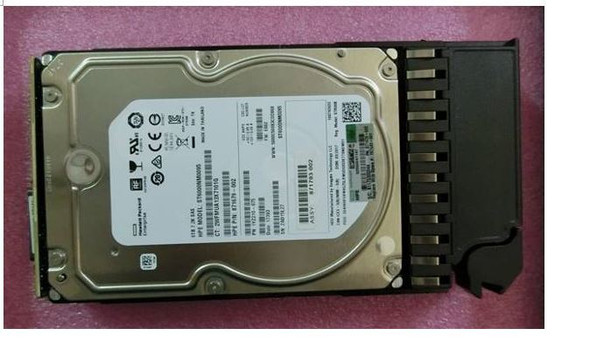 "HPE 807582-001 6TB 7200RPM 3.5inch LFF Dual Port 512e SAS-12Gbps Midline Hard Drive for MSA 1040/2040 LFF SAN Storage (New Bulk ""O"" Hour With 1 Year Warranty)"