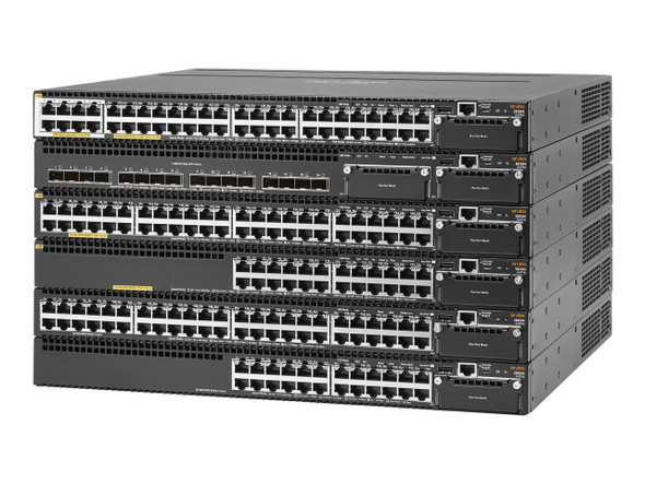 HPE JL076A Aruba 3810M 40G Rack Mountable 8SR PoE+ 1U 40-Port 1-Slot Managed Switch Module (Brand New with 3 Years Warranty)