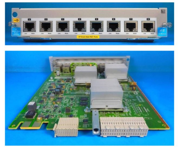HPE Aruba J9995-61001 5400R 8-Port Ethernet 10Base-T PoE+ V3 zl2 Expansion Module (Brand New with 3 Years Warranty)