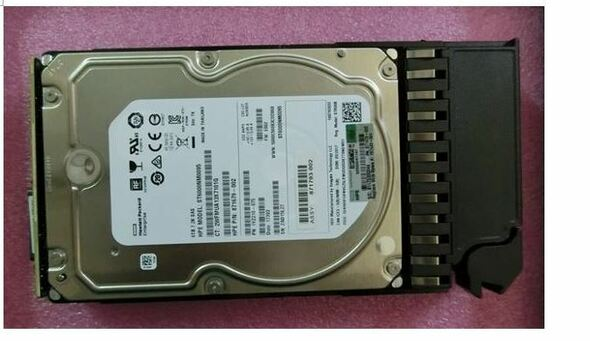 HPE J9F36A 6TB 7200RPM 3.5inch LFF Dual Port SAS-6Gbps Midline Hard Drive for MSA 1024/2040 SAN Storage (Brand New with 3 Years Warranty)