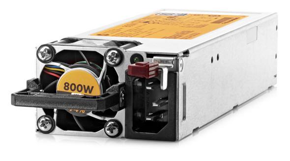 HPE 720479-B21 800 Watt Flex Slot 94% High Efficiency 80 PLUS Platinum Redundant Power Supply Kit for ProLiant Gen9 Servers (New Bulk with 1 Year Warranty)