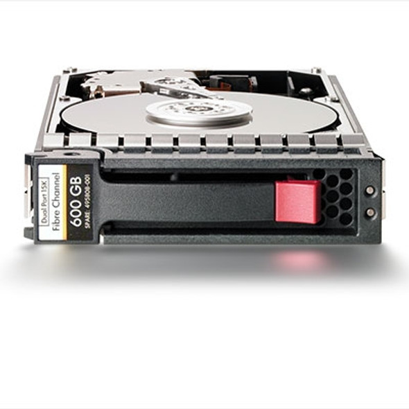 HPE AJ872A 600GB 15000RPM 1-inch form factor Dual Port 2/4Gbps Fibre Channel-AL Hot-Swap Hard Drive for StorageWorks M6412A Enclosures and EVA 4400/6400/8400