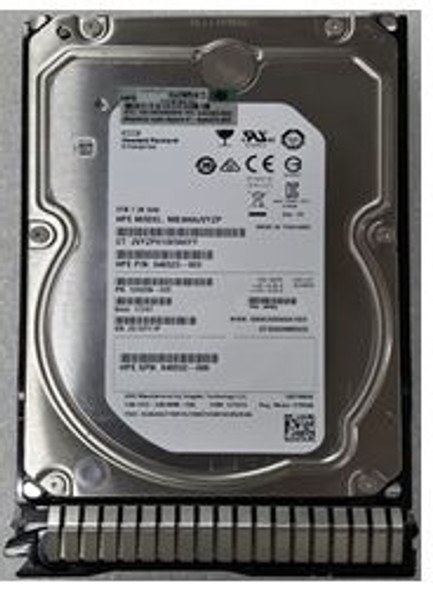 HPE 846523-003-SC 3TB 7200RPM 3.5inch LFF SAS-12Gbps Hot-Swap SmartDrive Carrier Midline Internal Hard Drive for ProLaint Gen8 Gen9 Servers (Brand New with 3 Years Warranty)