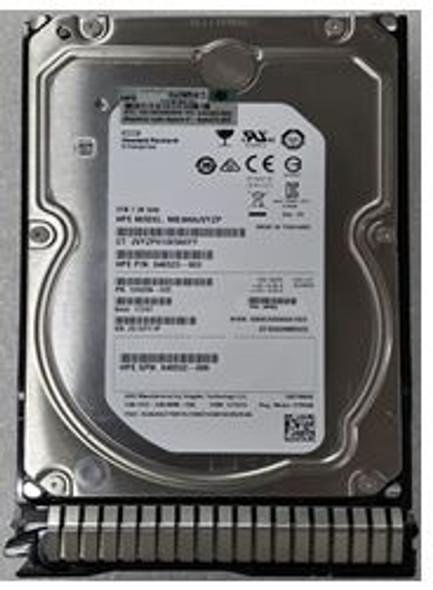 HPE 846523-003-SC 3TB 7200RPM 3.5inch LFF Digitally Signed Firmware SAS-12Gbps Smart Carrier Midline Hard Drive for ProLiant Gen8 Gen9 Gen10 Servers (New Bulk Pack with 1 Year Warranty)