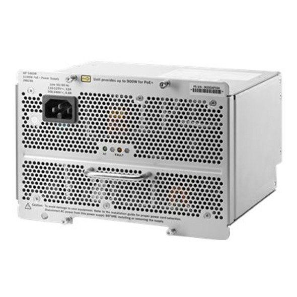 HPE J9829A 1100 Watt Power Supply for Procurve 44G 5406 zl2 Switch (New Bulk with 1 Year Warranty)
