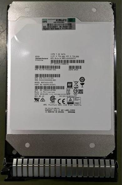 HPE Helium P11185-001 14TB 7200RPM 3.5inch LFF 512e Digitally Signed Firmware SATA-6Gbps Smart Carrier Midline Hard Drive for ProLiant Gen8 Gen9 Gen10 Servers (Brand New with 3 Years Warranty)