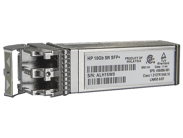 HPE 455885-001 c-Class 10Gb/s SFP+ SR Transceiver Module for BladeSystem and ProLiant Gen7 Gen8 Gen9 Servers (Grade A with 90 Days Warranty)