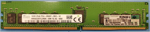 HPE P00922-B21 16GB (1x16GB) 2933MHz PC4-2933 Registered CL-21 (21-21-21) Dual Rank x8 DIMM DDR4 Memory for ProLiant Gen10 Servers (Brand New with 3 Years Warranty)