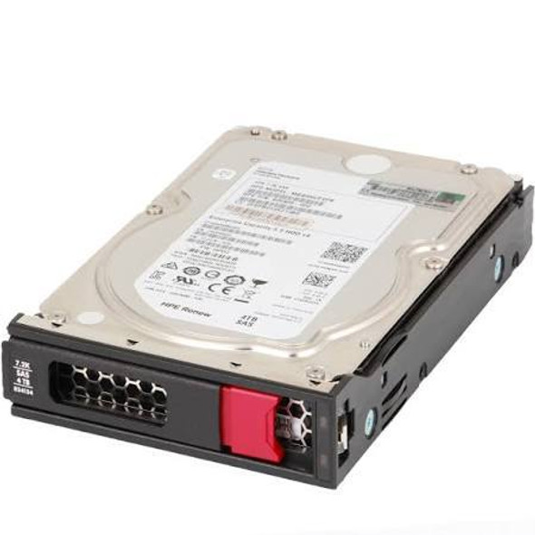 HPE 834134-001 4TB 7200RPM 3.5inch LFF Digitally Signed Firmware 512n SAS-12Gbps Low Profile Midline Hard Drive for ProLaint Gen10 Servers (New Bulk with 1 Year Warranty)