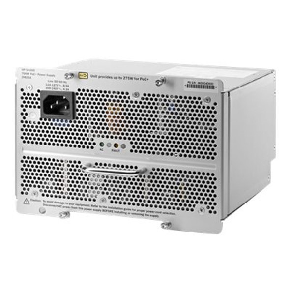 HPE J9828-61001 Aruba 5400R 700Watt PoE+ (Power over Ethernet) zl2 Internal Power Supply Module (Brand New with 3 Years Warranty)