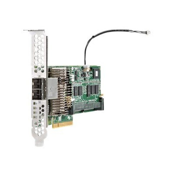 HPE 726825-B21 Smart Array P441/4GB FBWC 12Gbps Dual Ports PCIe 3.0 x8 External SAS Storage (RAID) Controller for ProLiant Gen9 Servers & MSA 2040 SAN Storage (Brand New with 3 Years Warranty)